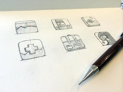 healthcare app icons