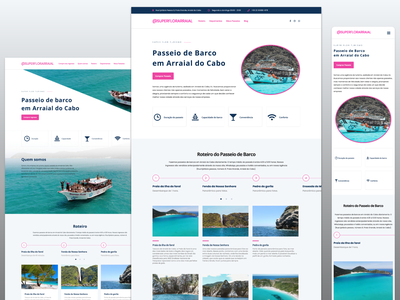 Boat tour website tourism wordpress development wordpress design wordpress