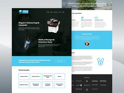 Printing equipment rental and outsourcing website wordpress development wordpress design web design wordpress