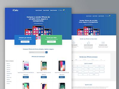 iPhone marketplace concept iphone ux web design wordpress theme woocommerce wordpress