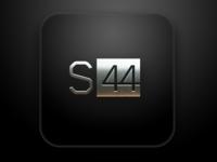 S44 Logo Metal