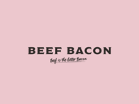 BEEF BACON Identity
