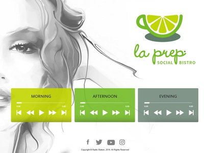 La Prep - Landing page