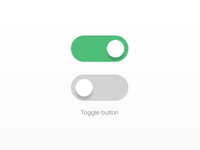 Toggle button with svg demo by rice tseng - Dribbble