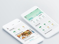 UX and interaction design for Grab app home page