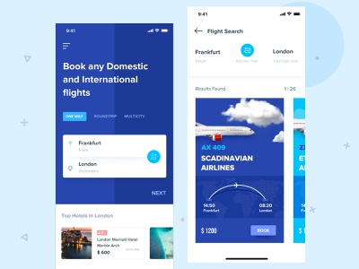 Flight Booking bookingappui design illustration appdesign userinterface uitrends minimalism concept makemytrip uidesign ux ui app flightbooking booking app booking