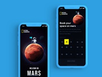 Mars experience blue
