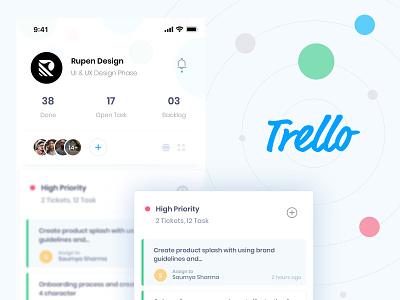Trello login interaction design booking app branding artist brand and identity illustration dribbble uidesign userinterfacedesign typography app appdesign uitrends userinterface ux design concept design ui
