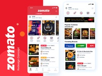Zomato typography branding logo illustraion uiux appdesign uitrends app design ux userinterface ui delivery discount offers location restaurant fooddelivery food