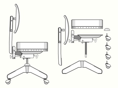 Steelcase Chair Structure
