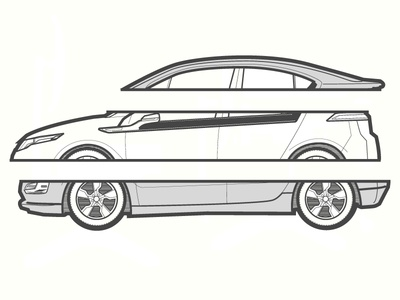 Chevrolet Volt Illustration