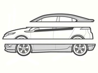 Chevrolet Volt Illustration