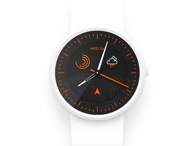 Smart watch design - Daily UI #014