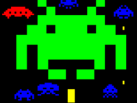 Teletext Space Invaders