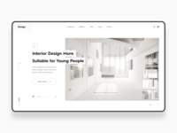 Interior design Web