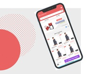 Shopping Mobile Application - Ui Design