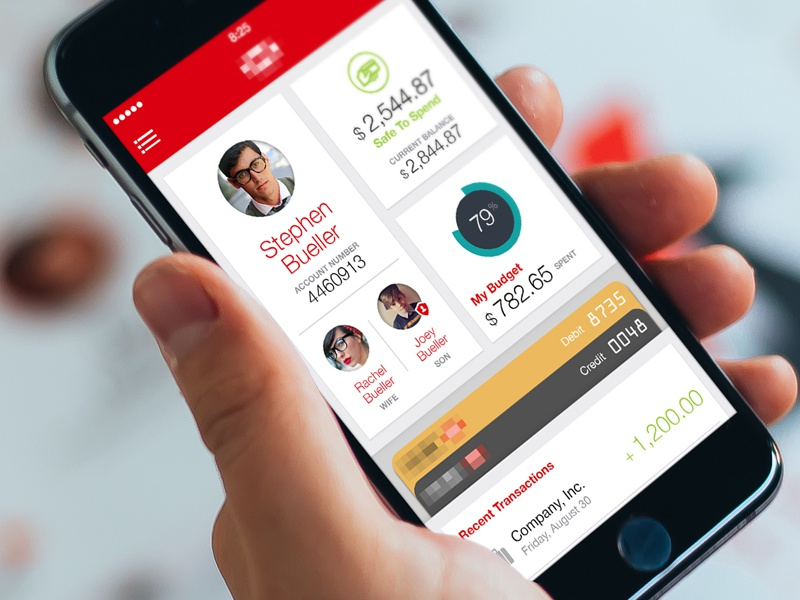 Mobile Banking Dash iphone ios app banking
