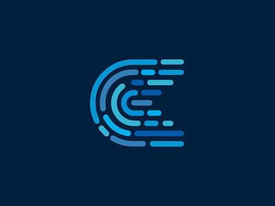 Fingerprint C logo c fingerprint
