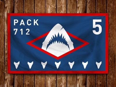 Pack 712 Flag