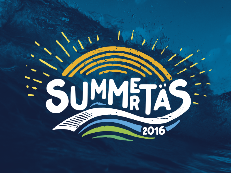 Summertas 2016 beach summer brand logo