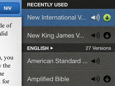 Bible Gateway iPhone Translations