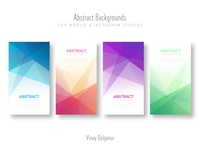 Abstract Background for Mobile & Instagram