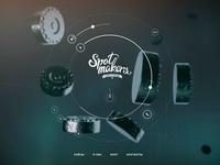 Spot makers website player