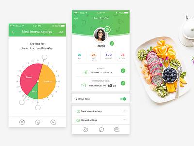 User Settings3b ux ui design app