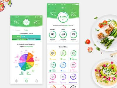 Home Screen design app ux ui