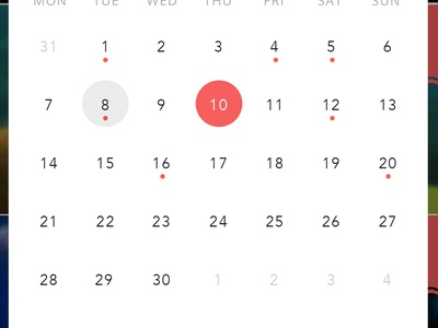Events - Calendar Category & Detail category calendar design calendar event app events tourist app tourist design ux ui app