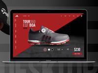 Adidas Golf TOUR360 UI/UX Concept 1