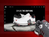 Adidas Golf TOUR360 UI/UX Concept 3