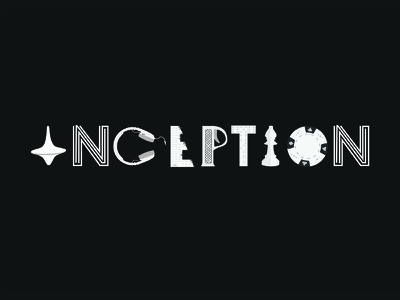 Inception Logo inception logo elements from movie
