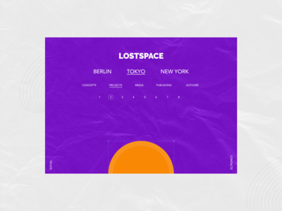 Lostspace Page