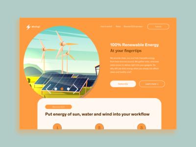 Økologi Concept, Orange
