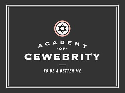 Cewebrity Academy Logo icon logo