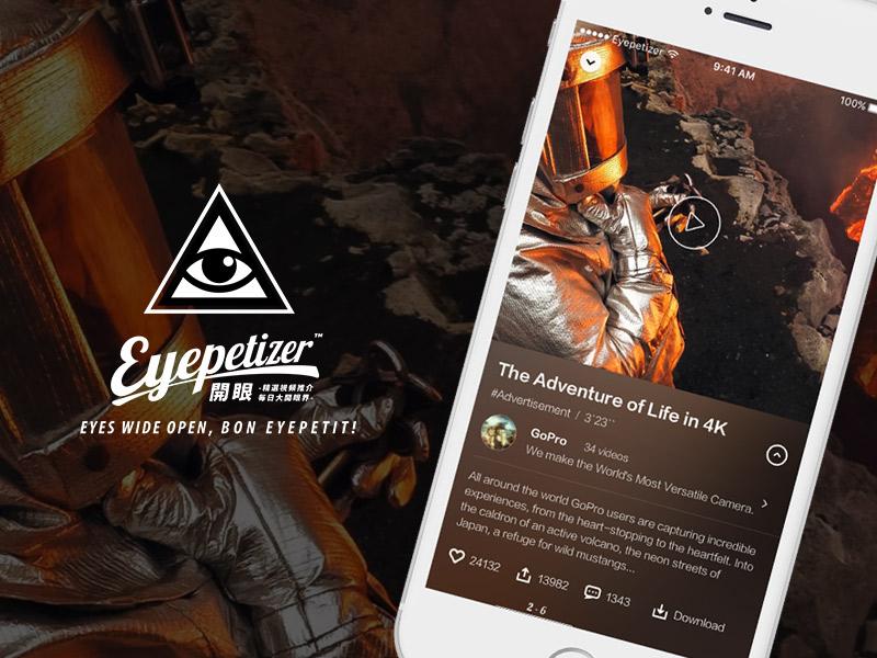 Video detail page of Eyepetizer  eyepetizer detail app