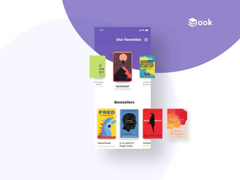 Book App ux daily ui fredysosa book cover design ui mobile book