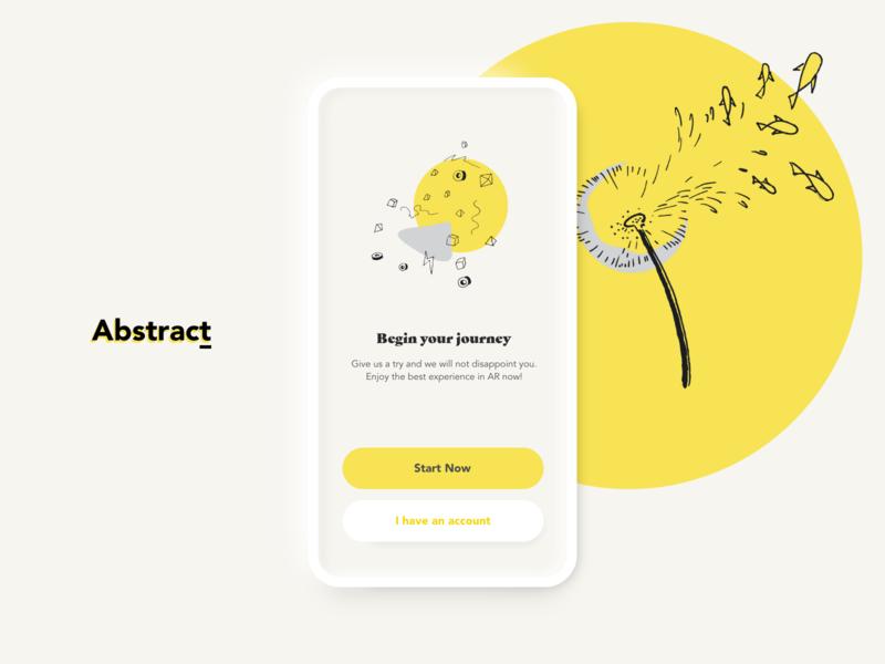 Abstract neomorphism design fredsosa abstrakt asbtract ar newskeuomorphism skeuomorphism mobile app ui