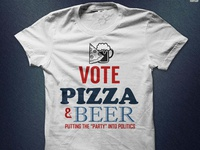 Vote Pizza And Beer