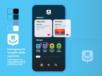 GroupMe - Mobile Redesign