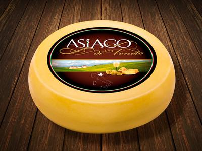 Asiago di Veneto Premium Italian Cheese