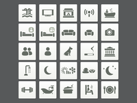 Lovely Places Icons