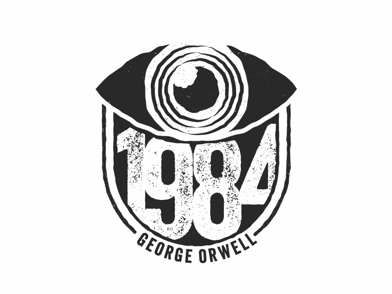 1984 George Orwell Pt Ii By Yamil Sahid Dribbble Dribbble