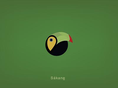 Sákane icon graphic design branding design logodesign design logo branding costarica brand identity