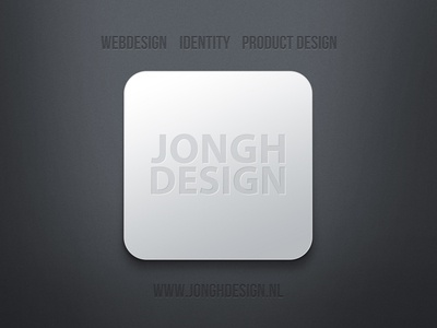 JONGHDESIGN logo as tile