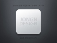 JONGHDESIGN logo as tile