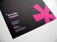 Promotie Company Letterhead