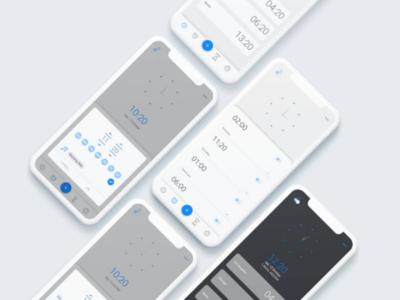 Clock App redesign