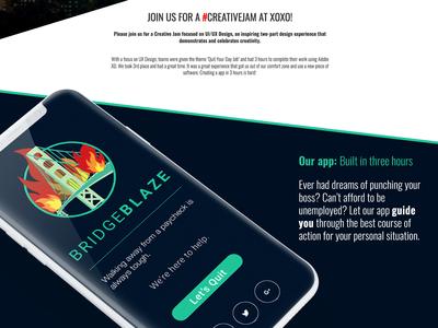 Adobe Creative Jam Portland create a app in 3 hours creative jam portland adobe xd creativejam